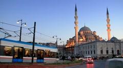 Eminonu Square, Istanbul Stock Footage