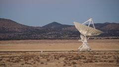 Very Large Array VLA Twilight 2 - stock footage