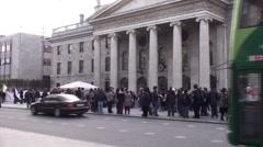 GPO Dublin  Stock Footage