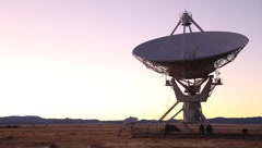 Very Large Array VLA Tracking Stock Footage