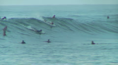 Pro Surfer 2, Honolua Bay  Stock Footage