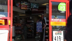 Convenience Store - stock footage