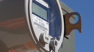 Stock Video Footage of Electrical meter