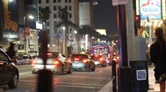 Stock Video Footage of HD Hollywood Los Angeles