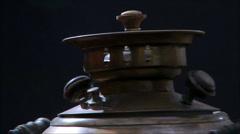 Vintage teapot Stock Footage