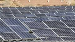Solar Power 3 Stock Footage