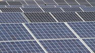 Stock Video Footage of Solar Array