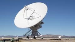 Satellite Dish - stock footage
