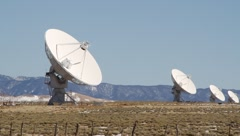 Very Large Array Desert Stock Footage