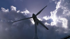 Wind Turbine - Air Power - Wind Energy - Wind Generator 9 Stock Footage