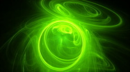 Green rings seamless looping bg d4397 L Stock Footage