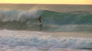 Stock Video Footage of surfer jumps HQ