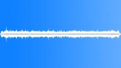 Small boat thru waves. - sound effect