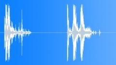 Crashes, wood. Sound Effect