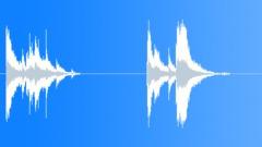 Stock Sound Effects of Glasscrash, large panel.