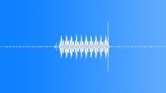 Cuckoo clock strikes 1. Sound Effect