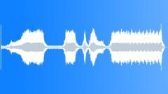 Food processor, different speeds, pulsating. - sound effect