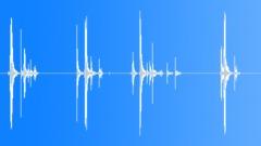 Gundrop on wood floor. Sound Effect