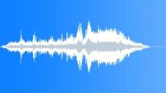 Jetski, in, turns with water splash, drives away. Sound Effect