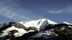 Mountain Berg Timelapse Zeitraffer Stock Footage