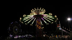 Carnival Neon - stock footage
