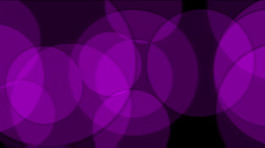Purple circle light,defocused circle lights drifting downwards,cells,drugs,egg, Stock Footage