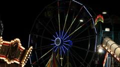 Carnival Urban Scenic Stock Footage