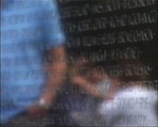 The Vietnam Wall in Washington, DC_GFSD Stock Footage