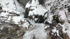 Snowy River Landscape Schneelandschaft Stock Footage