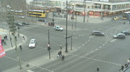 Street in berlin timelapse Stock Footage