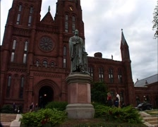 Smithsonian Castle, Washington, DC_GFSD Stock Footage