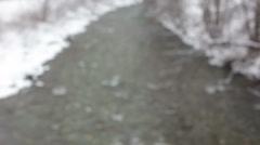 Snowy Landscape Schneelandschaft Stock Footage