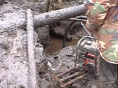 Stock Video Footage of Searchers dig up the spoils of war
