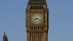 London Big Ben timelapse 02 Stock Footage