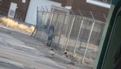 ghetto scenic - stock footage