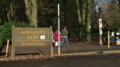 Laurelhurst Park Portland Oregon Pacific Northwest Stock Footage