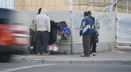 Stock Video Footage of Homeless People in Ghetto