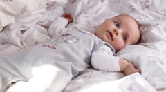Portrait of a baby 3 Stock Footage