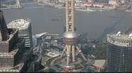 Oriental Pearl Tower, Shanghai Stock Footage