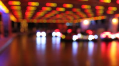 Bumper Cars (blur) Stock Footage