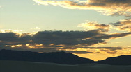 Stock Video Footage of 110414 sunset white sands