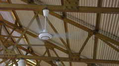 Ceiling Fan Stock Footage