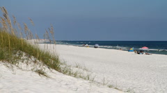 Fort Walton Beach Scene Stock Footage