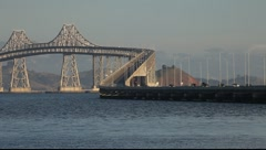 SF Richmond San Rafael Bridge Stock Footage