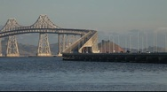 Stock Video Footage of SF Richmond San Rafael Bridge MVI 3991