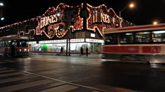 Honest Ed's Toronto Stock Footage