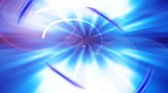 Blue Light Motion Background - stock footage