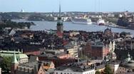 Stockholm City Stock Footage
