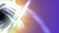 swirl curve light around black hole,tech energy laser field in Universe space, - stock footage