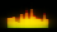 Equalizer - stock footage